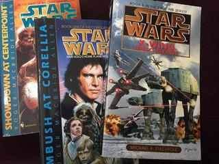 Lote Libros Novela Star Wars Han Solo 1-3 X Wing Ingles