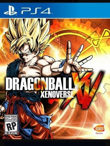 Dragonball Xenoverse Xv Psn Digital Code 2 Ps4