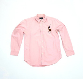 Polo Ralph Lauren Camisa Big Pony Juniors Unisex Rl Size 12