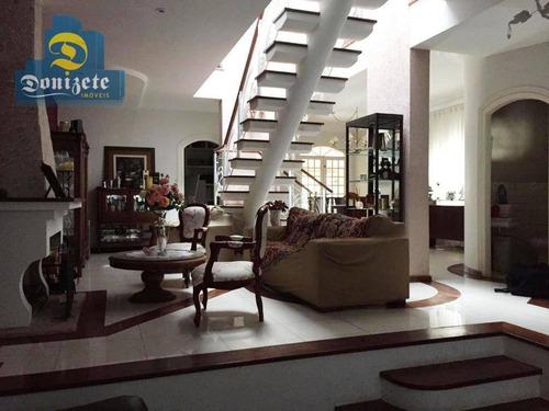 Sobrado Com 4 Dormitórios À Venda, 352 M² Por R$ 1.800.000,00 - Paraíso - Santo André/sp - So2233