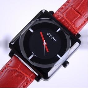 Relógio Feminino Guou 8811 Barato Quartzo De Pulso Promoção