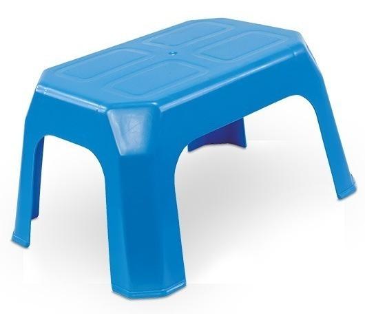 Kit C/2 Banquinhos Infantil De Plastico