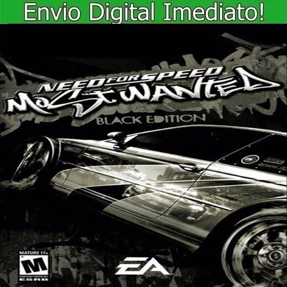 Need For Speed Most Wanted Black Edition Pc Hd Português.