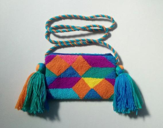 Cartera De Tapiz Guajiro - Tamaño Pequeño