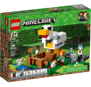 Todobloques Lego 21140 Minecraft The Chicken Coop