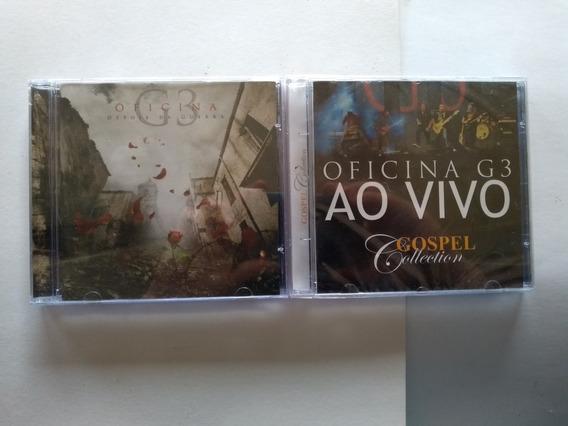 Cd Oficina G3 Depois Guerra + Cd Gospel Collection /lacrados