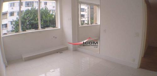 Sala Para Alugar, 60 M² Por R$ 9.900,00/mês - Leblon - Rio De Janeiro/rj - Sa0304