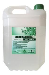 Glicerina Vegetal Liquida Pura 100% Grado Usp 5 Kg 5000 G