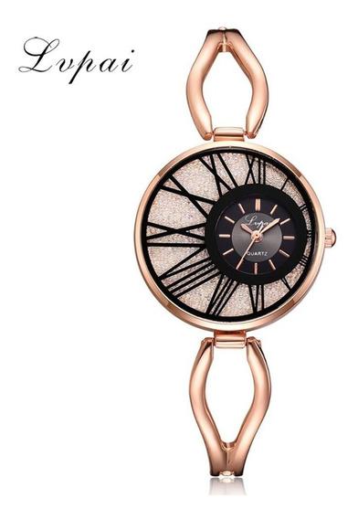 Relógios De Luxo Dourado De Quartzo Promoção Frete Grátis.