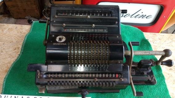Maquina De Calcular Brunsviga - 1949