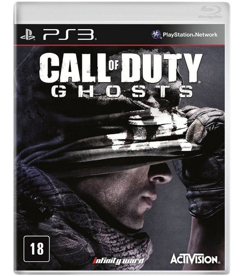 Jogo Call Of Duty Ghosts Ps3 Mídia Física Blu-ray Lacrado