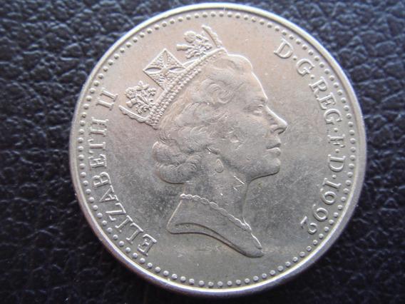 Reino Unido - Moneda De 10 Peniques, Año 1992 - Muy Bueno
