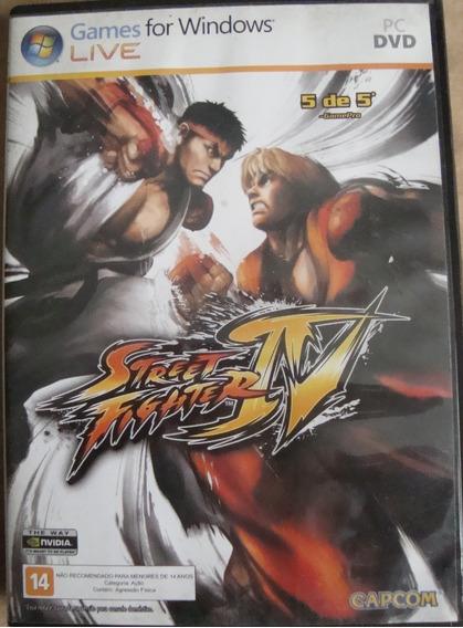 Pc Street Fighter Iv - Original - Usado