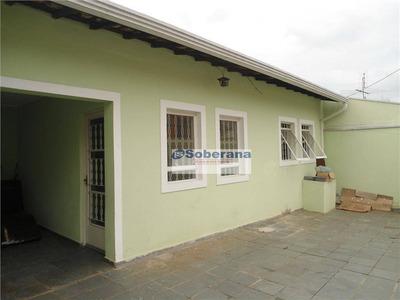 Casa Residencial Para Locação, Jardim Anton Von Zuben, Campinas. - Ca1699