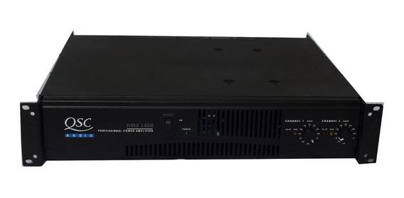 Amplificador De Potência 2 Canais Qsc Rmx 1450 1400w A11420