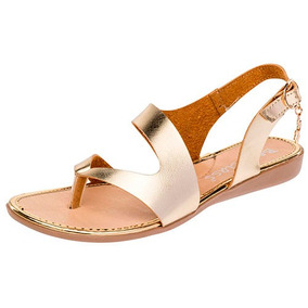 Mujer En Mercado Eres Zapatos Sandalias Doradas Flats Marca 5A4q3RjL