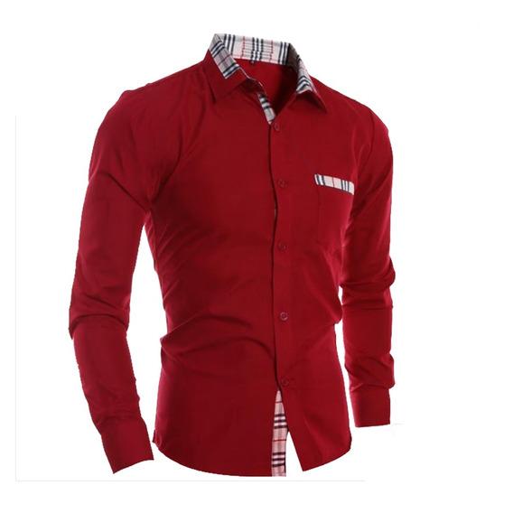 Camisa Caballero Slimfit #07 Denlinea