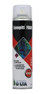 Compitt Foam Espuma De Limpieza Monitor Gabinete Pc 440cc