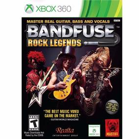 Bandfuse: Rock Legends - Game + Cabo - Xbox 360 - Lacrado