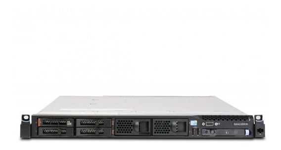 Servidor Ibm System X3550 M3 7944ac1 1x Intel Xeon E5620 Quadcore 2.4ghz 2gb Ddr3 Ram 4x Discos Rígidos 1tb + Garantia