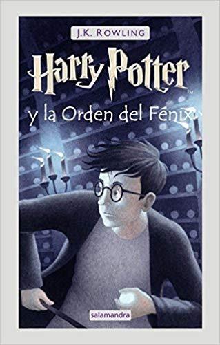 Harry Potter 5 - La Órden Del Fénix Tapa Dura J. K. Rowling