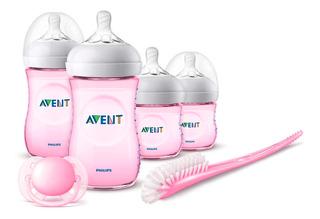Gift Set Natural 2.0 Nbss Pink Avent Scd301/03