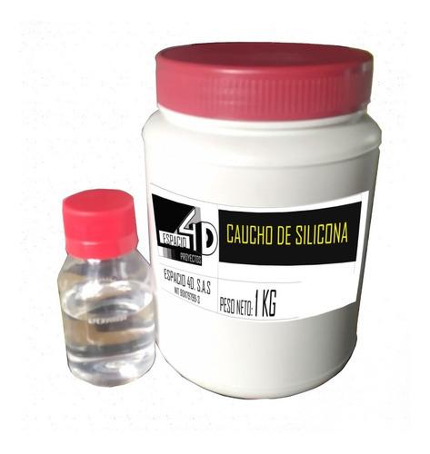 1kg Caucho De Silicona Para Moldes