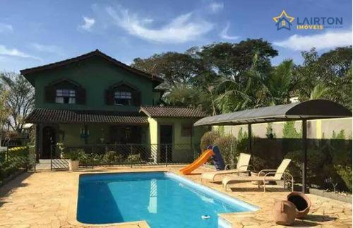 Chácara Com 3 Dormitórios À Venda, 1000 M² Por R$ 1.160.000 - Esplanada Do Carmo - Jarinu/sp - Ch1404