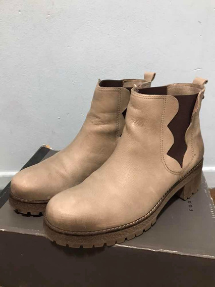Botas Hush Puppies Cuero T. 40 No Sibyl No Prune