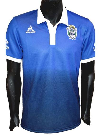 Camiseta Gimnasia La Plata (gelp) - Le Coq Sportif 2017 Azul Suplente - Nueva - En La Plata