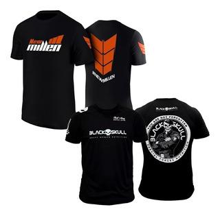 Kit Camiseta Black Skull E New Millen