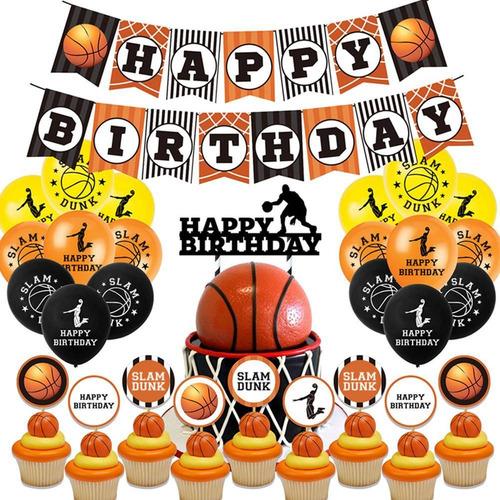 Baloncesto Tema Fiesta De Cumpleaños Decoración Globo
