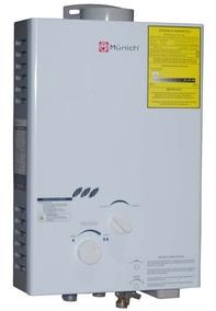 Calentador Agua Instantaneo Bolier 06 Lt Muncp-6l Munich V