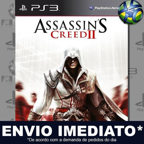 Assassins Creed Ii 2 Ps3 Psn Jogo Em Promoção Pronta Entrega