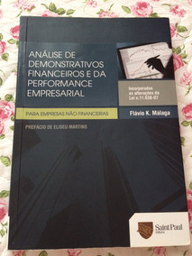 Análise De Demonstrativos Financeiros - Flávio Málaga