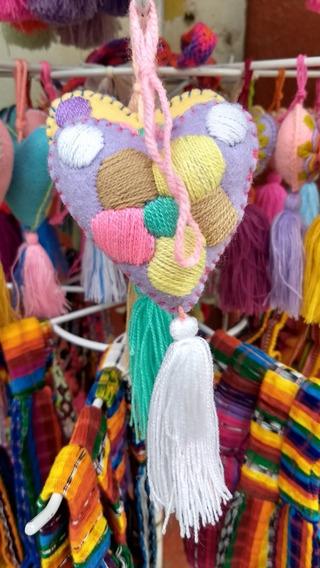 Colgantes Artesanales De Chiapas, Para Bolsos, Hecho A Mano
