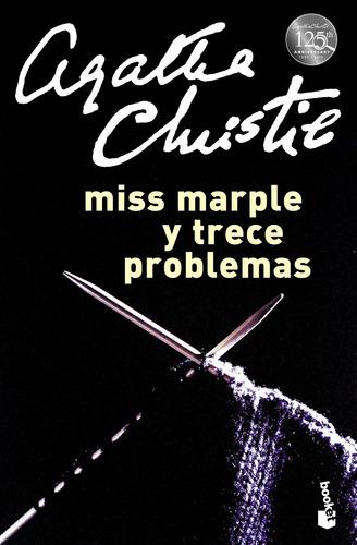 Imagen 1 de 1 de Miss Marple Y Trece Problemas Agatha Christie Booket