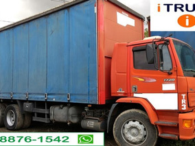 Mb 1728 Truck 6x2 Ano 2004 Semi Leito Baú Sider 8 M. =vw.
