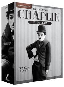 Chaplin The Collection 2ª Temporada - 3 Dvds Série Comédi