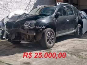 Renault Duster Dakar (batida) 25.000,00