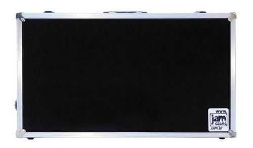 Imagem 1 de 3 de Case Pedal Board Pedais Pedaleira Boss Zoom 65x34x15 Int
