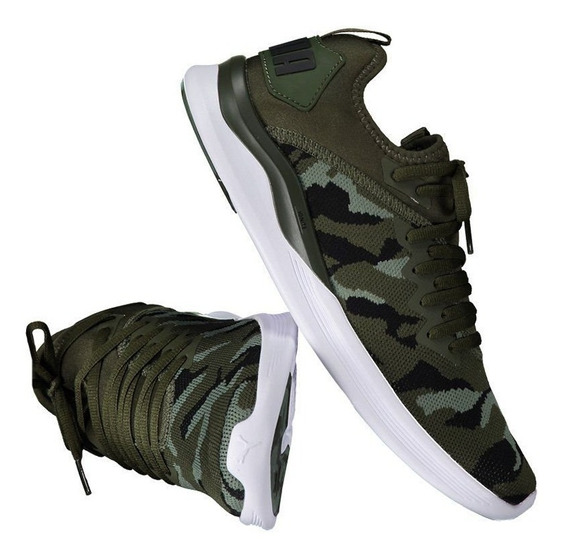 Tênis Puma Ignite Flash Camo