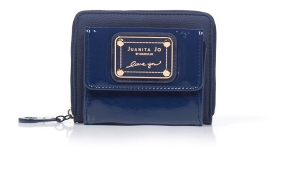 Billetera Juanita Jo Pocket azul