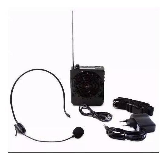 Kit Professor Amplificador De Voz Boas K-150 (kit C/ 4 Uni)