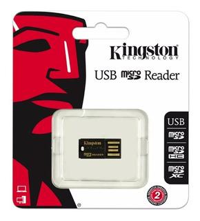 Lector De Tarjetas Micro Sd A Usb 2.0 Kingston Fcr-mrg2 Nuev