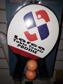 Raquetas De Ping Pong Larca Con 2 Pelotas