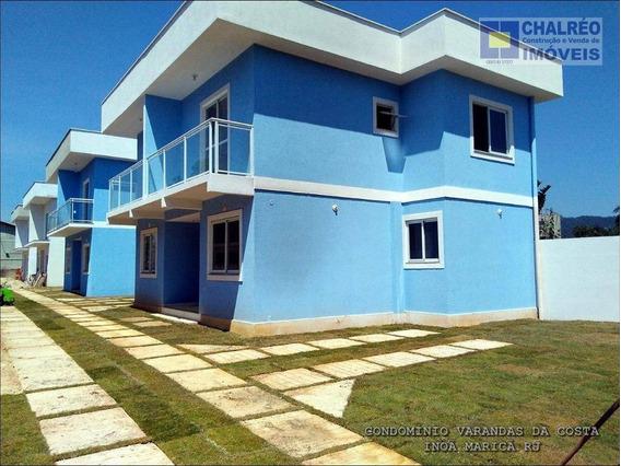 Venda Casa 02 Quartos Inoã Itaipuaçu Maricá Rj - Ca0002