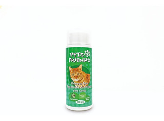 Shampoo Seco Repelente De Pulgas Para Gatos