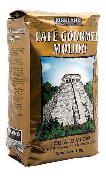 Café Gourmet Molido Chiapas Kirkland Signature De 1 Kg