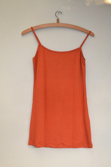 Musculosa Color Ladrillo - Talle U